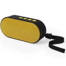 Altavoz conexión bluetooth amarillo - RGregalos publicitarios
