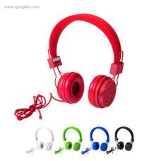 Auriculares colores - RG regalos publicitarios
