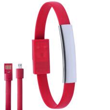 Cargador pulsera rojo - RGregalos publicitarios