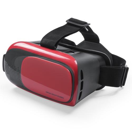 Gafas realidad virtual ajustables rojas - RGregalos