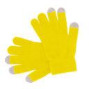 Guante táctil Acrílico amarillo - RGregalos publicitarios