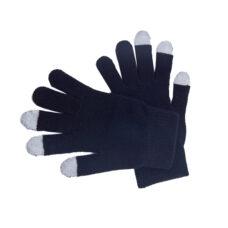 Guante táctil Acrílico tres dedos táctil negro Rgregalos