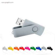 Memoria USB suave acabado - RG regalos publicitarios