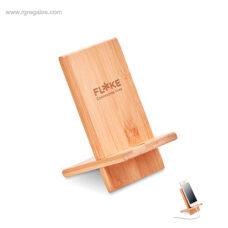 Soporte para móvil de bambú - RG regalos de empresa