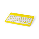 Teclado inalámbrico colores amarillo - RGregalos publicitarios