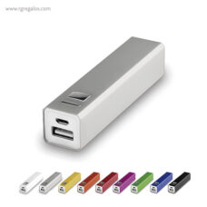 Power Bank 2200 mAh alumnio - RG regalos publicitarios
