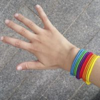 El Manisero pulseras brazo RG regaloas