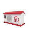 Altavoz formas personalizadas casa blanca - RG regalos