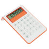 Calculadora bicolor naranja Rgregalos