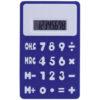 Calculadora en silicona azul Rgregalos