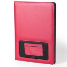Carpeta polipiel con bloc rojo - RGregalos