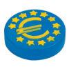Euro azul antiestrés publicitario - RGregalos