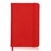 Bloc notas polipiel roja RGregalos