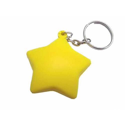Llavero estrella antiestrés RGregalos