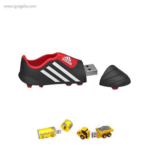 Memoria USB formas especiales _ RG regalos publicitarios