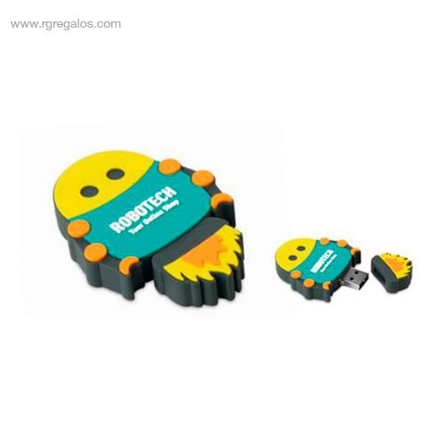 Memoria USB formas especiales muñeco - RG regalos