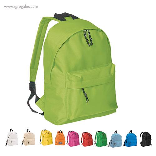 Mochila poliéster 600D color - RG regalos publicitàrios