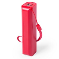 POWER BANK 1200 mAh rojo - RGregalos