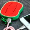 Power Bank 400 mAh frutas sandia conectdo - RG regalos publicitarios