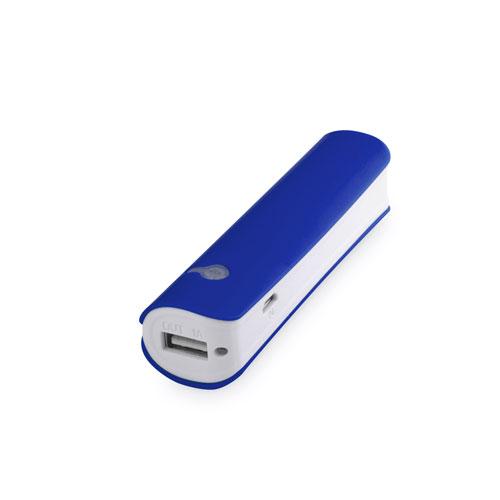 POWER BANK 2200 mAh LUZ LED azul - RGregalos