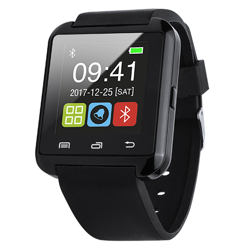 Reloj inteligente pantalla LCD 1,44 negro - RGregalos