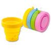 Vaso plegable silicona colores - RGregalos