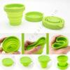 Vaso plegable silicona detalle - RGregalos