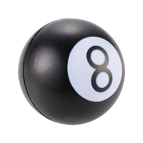 """antiestrés pelota billar """"8"""" RGregalos"""