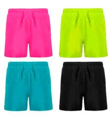 Bañador 100% poliéster bolsillos laterales colores - Rgregalos