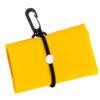 Bolsa plegable poliéster 190T amarilla - Rgregalos