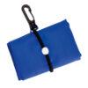 Bolsa plegable poliéster 190T azul - Rgregalos