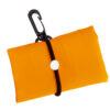 Bolsa plegable poliéster 190T naranja - Rgregalos