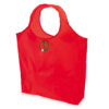 Bolsa plegable poliéster 190T roja - Rgregalos