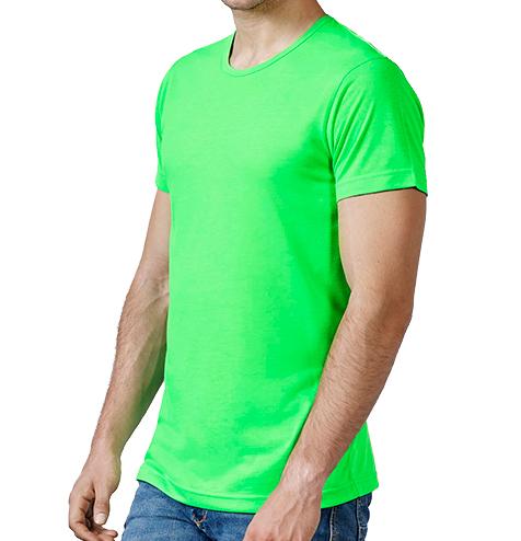 Camiseta 100% poliéster colores flúor - RGregalos publicitarios