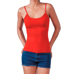 Camiseta 95% algodón tirantes finos modelo - RGregalos