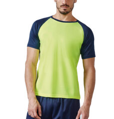 Camiseta técnica contraste hombre - RGregalos