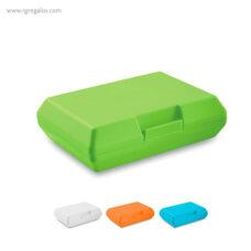 Fiambrera básica de plástico - RG regalos publicitarios