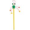 Lápiz madera con muñeco amarillo - RGregalos