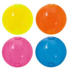 Pelota hinchable color transparente 28 cm - RGregalos