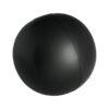 Pelota playa hinchable color 28 cm negra - RG regalos publicitarios