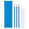 Set escritura 4 piezas azul - RGregalos