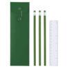Set escritura 4 piezas verde - RGregalos