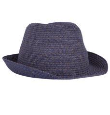 Sombrero paja elástica colores azul - RGregalos