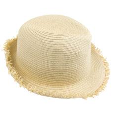 Sombrero paja elástica con flecos - RGregalos