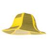 Sombrero de paja plegable amarillo - RGregalos