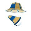 Sombrero de paja plegable detalle - RGregalos