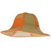 Sombrero de paja plegable naranja - RGregalos