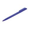Bolígrafo plástico con clip cuadrado azul - RGregalos