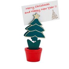 Clip madera navidad árbol - RG regalos publicitarios