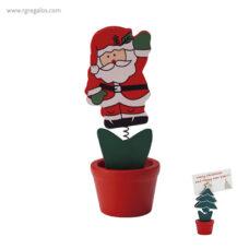 Clip madera navidad - RG regalos publicitarios